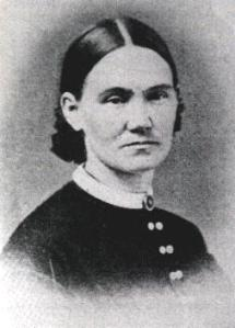 Amanda Colburn Farnham, who enlisted with the 3rd Vermont Regiment in 1861.  See her entry in Our Army Nurses.