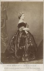 Queen Victoria, 1861, by Charles Clifford