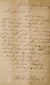 Anne Davis Letter
