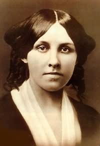 Louisa May Alcott, circa 1857, about age 20