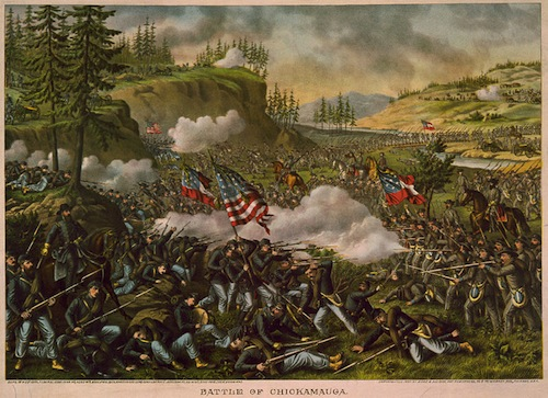 Battle of Chickamauga, Library of Congress