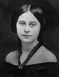 Emilie Todd Helm, Mary Todd Lincoln's half-sister, courtesy Mr. Lincoln's White House