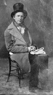 Horace Greeley, circa 1844-1860, courtesy Library of Congress