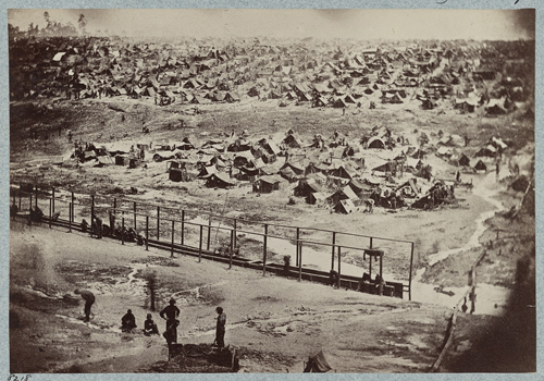 Andersonville Prison, Ga., August 17, 1864, Library of Congress