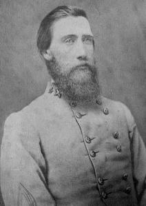 Confederate General John B. Hood, courtesy Library of Congress