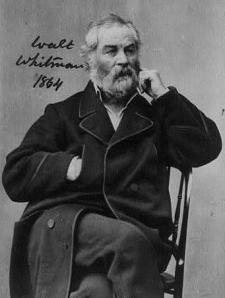 Walt Whitman, 1864 by Alexander Gardner, Library of Congress