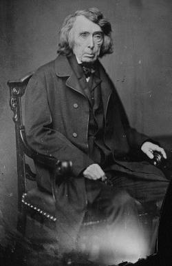 Roger B. Taney, Chief Justice of the United States Supreme Court, by Mathew Brady, courtesy Library of Congress